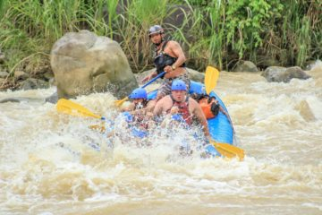 Naranjo White water Rafting